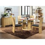 Jual JF603 Oak Dining Table, 4 Chairs & Sideboard