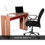 Alphason Mekablock Cadiz Computer Workstation in Walnut