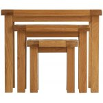 Ultimum Oakham Oak Nest of Tables