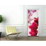 1Wall Trailing Pink Orchid Door Mural