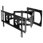 "Peerless SLWS450/BK Dual Arm Articulating Wall Mount for up to 65"" TVs"
