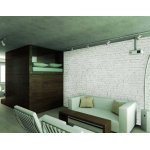 1Wall Giant Distressed White Brick Effect Wall Mural