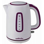 Sabichi 113023 Highlights Plum Jug Kettle - 1.7L