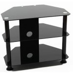 "ValuFurniture Universal Black TV Stand for up to 32"" TVs"