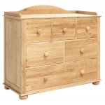 Baumhaus Amelie Oak CCO12A Chest of Drawers