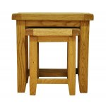 Ultimum Stamford STM-N2T Solid Oak Nest of 2 Tables