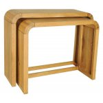 Ultimum Durham Oak UD50 Resized Pair of Console Tables