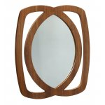 Jual JF105 Walnut Mirror