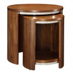 Jual JF306 Walnut Nest of Tables