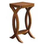 Jual JF502 Walnut Small Lamp Table
