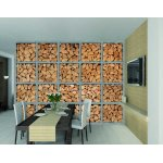 1Wall Giant Logs Wall Mural