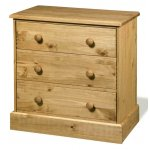 Core Products Cotswold CT313 3 Drawer Pine Chest