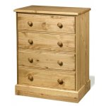 Core Products Cotswold CT314 4 Drawer Pine Chest