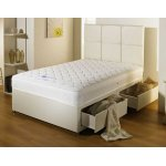 Luxan Serenity Cream 2 Drawers with Headboard 3'0 Divan