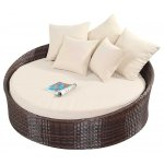 Luxan WGF-214 Port Royal Prestige Brown Small Daybed