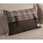 Campbell Toggle Cushion - Mocha