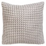 Fishermans Knit Cushion Natural