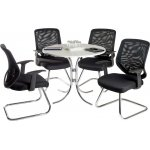 Teknik Nova Meeting Set - White Table