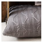 Gallery Arran Cushion - Charcoal