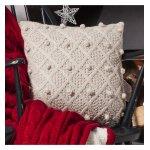 Gallery Bobble Cushion - Natural