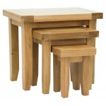 Rustic Grange Devon Oak Nest of Tables