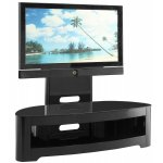 Jual JF209 High Gloss Black TV Stand With Mount