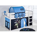 ValuFurniture Star Wars Solid Wood Midsleeper Single Bed - All Included