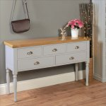 Baumhaus Chadwick Console Table With Drawers
