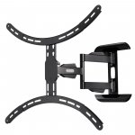 "Hama Full Motion Cantilever Wall Bracket For TVs Up To 37"" - 65"" - Black"