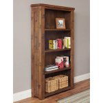 Baumhaus Heyford CRS01A Rough Sawn Oak Large Bookcase
