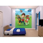 "Walltastic Paw Patrol Wallpaper 8ft x 6ft 6"" Mural"