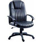 DSK City Leather Executive Armchair - Black