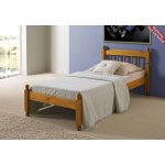 Amani Colonial Spindle Honey Pine Bed Frame Small Single - No Drawers