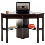 DSK Cinnamon Cherry Home Office Corner Desk