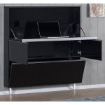Sonorous HM110WRK-BLK Black Home Hidden Work Station