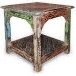Shankar New England Reclaimed Timber End Table