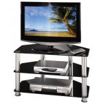 """Hama Universal Black Glass TV Stand for up to 42"""""""