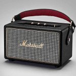Marshall Kilburn Black Portable Stereo Speaker