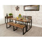 Baumhaus IRF04B Urban Chic Large Dining Table