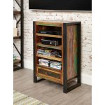 Baumhaus IRF09A Urban Chic Hi-Fi Entertainment Cabinet