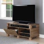 "Jual Solid Wood Rustic Oak TV Stand for up to 55"" TVs"