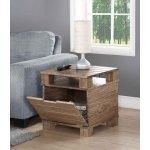 Jual Solid Wood Rustic Oak Lamp Table