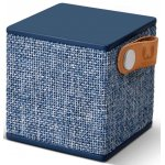 Fresh 'n' Rebel Indigo Rockbox Cube Fabriq Bluetooth Speaker