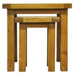 Ultimum Beck Oak Nest of 2 Tables
