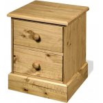 Core Products Cotswold CT309 2 Drawer Bedside Cabinet