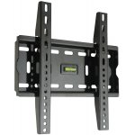 "Fixed Black LCD Wall Mount Bracket - 17"" - 37"" TV's"
