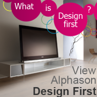 Alphason Design First TV Stands by Alphason