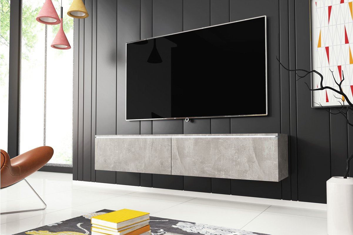 Selsey Sel Kane 1400 Cncr Kane 1400 Tv Stand For Tvs Up To 64 Inch
