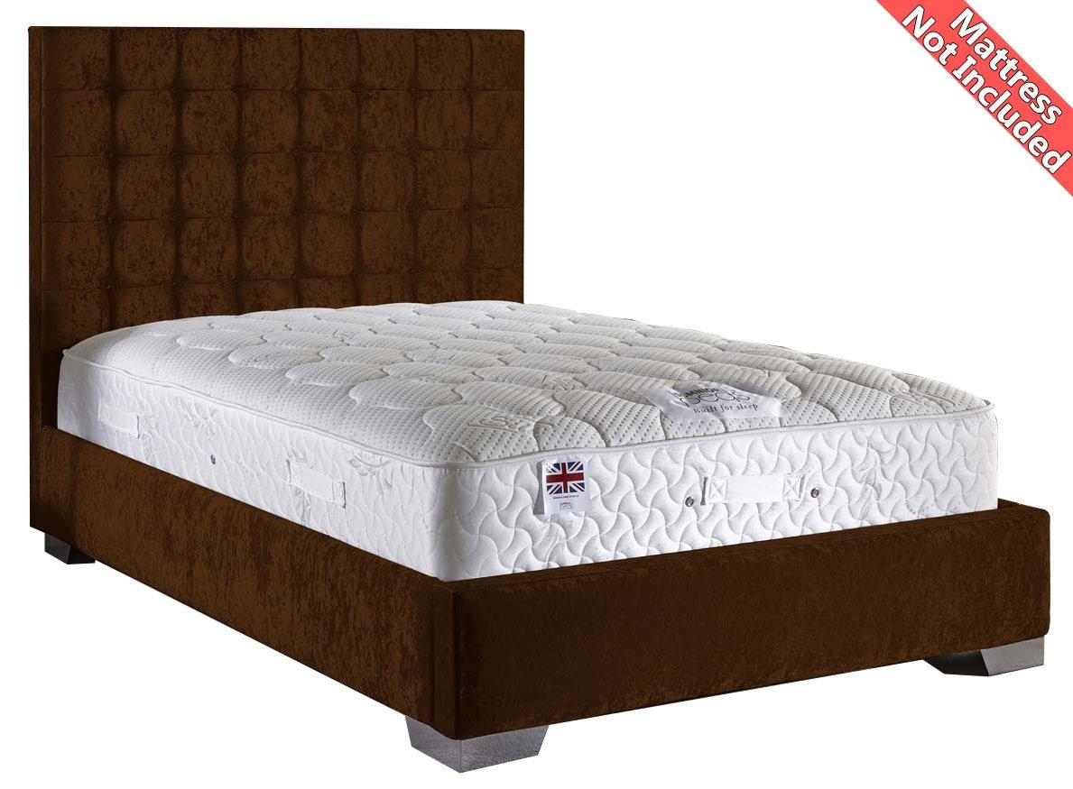 Valufurniture cop fra truf vlvt 46 beds for 4ft 6 divan bed