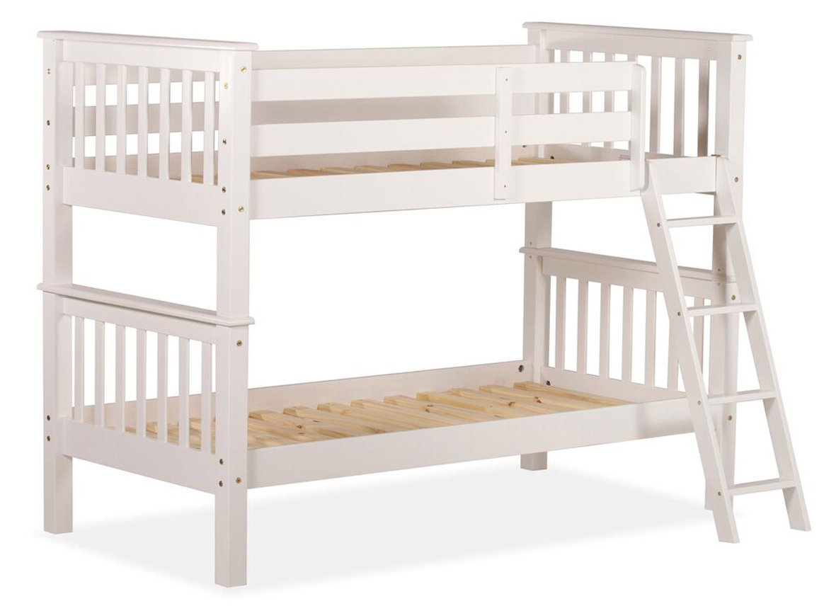 Amani oxfordbunk30 white beds for Bunk bed alternative